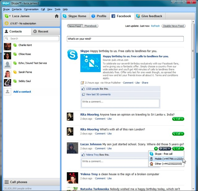 skype-fb-news-feed