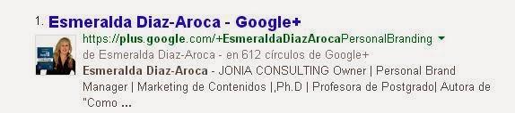 Google-Plus-perfil-Esmeralda-Diaz-Aroca-en-SERP
