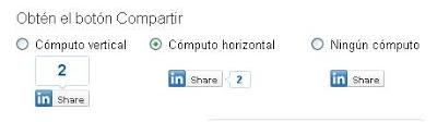 Linkedin-buttoms