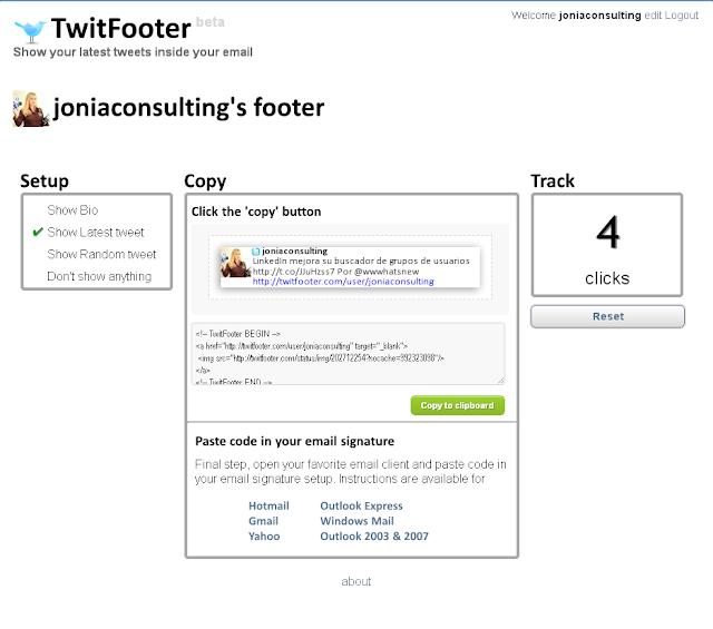 Twiifooter