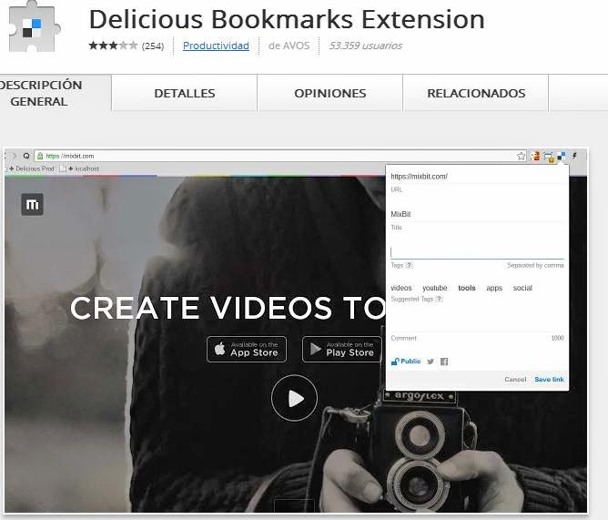 Delicious-book-marke-extension