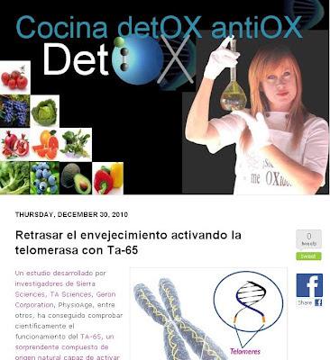 Blog Cocina Detox AntiOx
