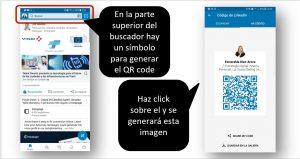 Códigos QR en LinkedIn para añadir contactos