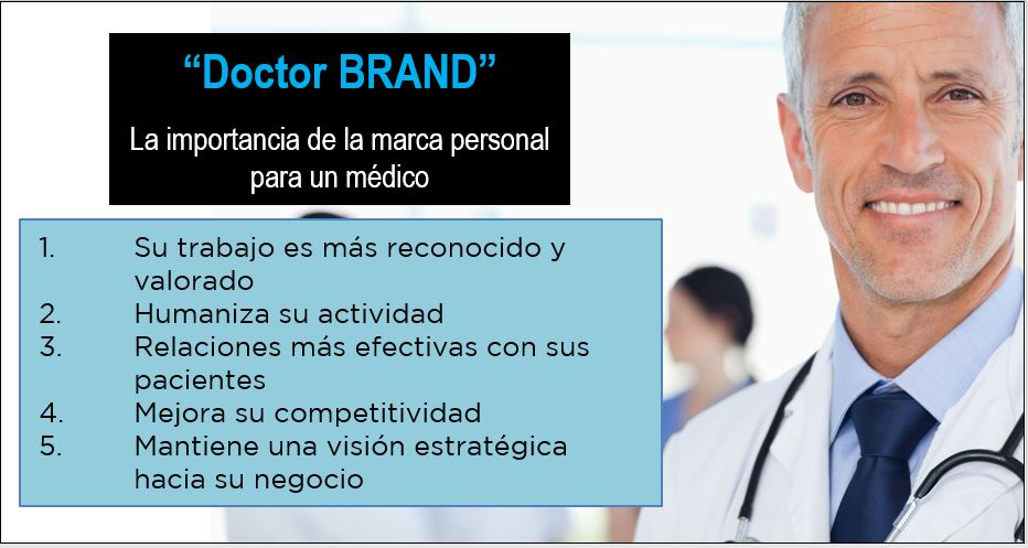 Ventajas de la marca personal para los médicos