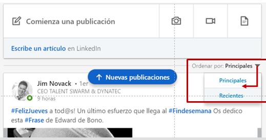Publicación post - por default los TOP