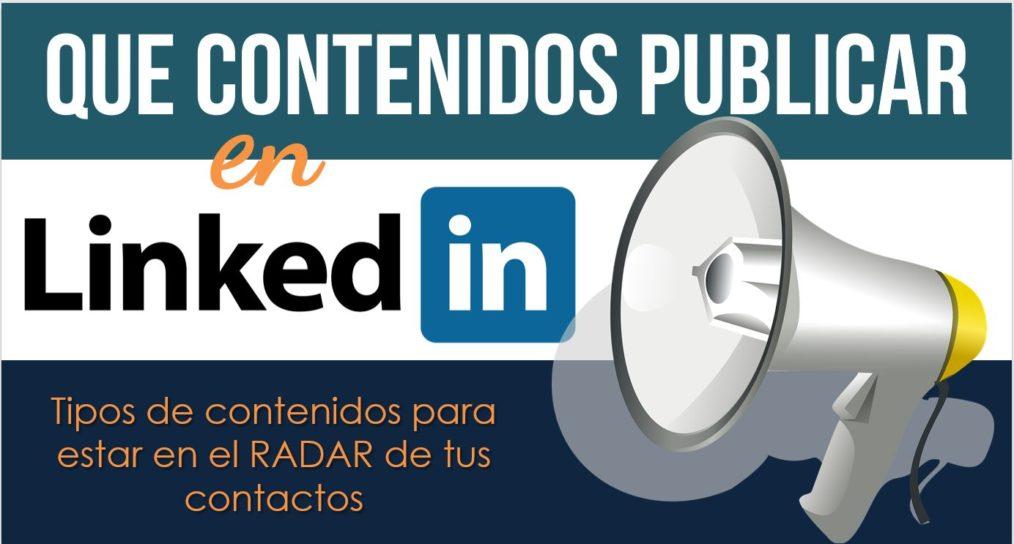 Contenidos para publicar en LinkedIn