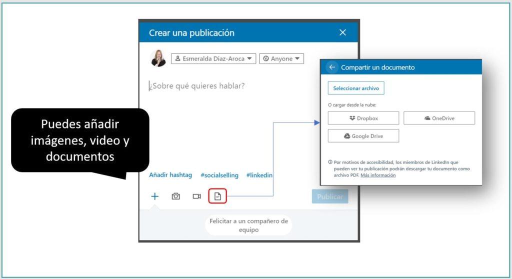 Formatos de contenido a publicar en LinkedIn