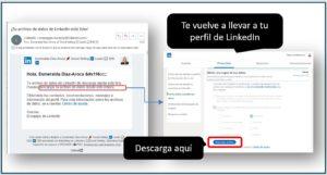 Como exportar contactos de LinkedIn | Ajustes y privacidad | Descarga tu archivo | Social Selling