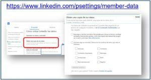 Como exportar contactos de LinkedIn | Ajustes y privacidad | Social Selling